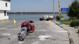Bordercrossing to Romania by boat