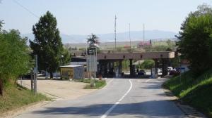 Serbischer Grenzposten