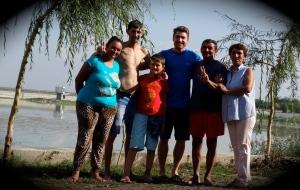 Familie Perca und meine Wenigkeit